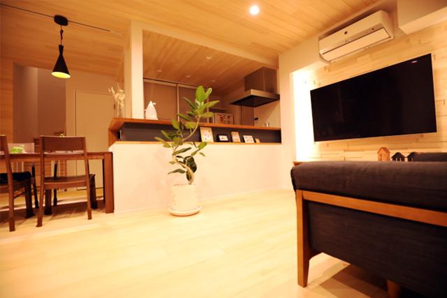 濱本邸モデルハウス LDK
