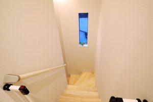 濱本邸モデルハウス 階段