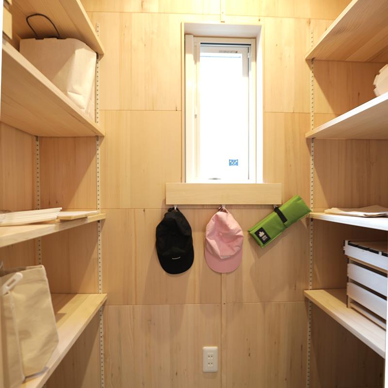 シューズクローク - もみの木ハウス 東大阪モデルハウス