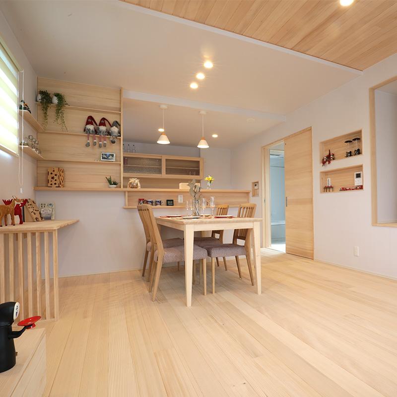 リビング - もみの木ハウス 東大阪モデルハウス
