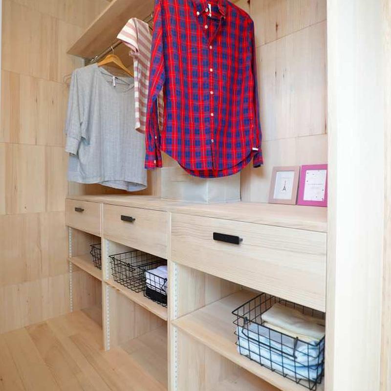 洗面脱衣所 - もみの木ハウス 東大阪モデルハウス