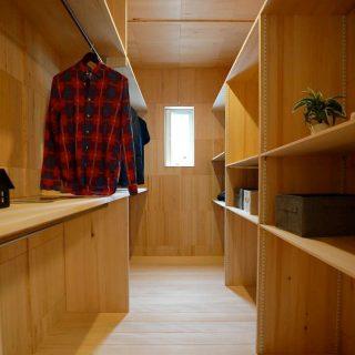 ウォークインクローゼット - もみの木ハウス 東大阪モデルハウス